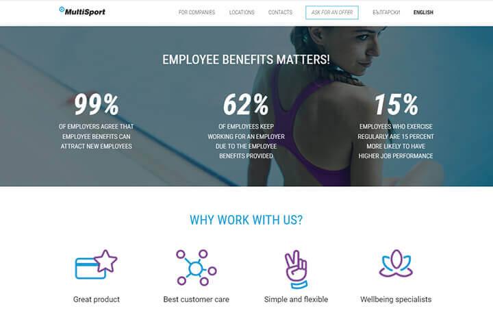 Benefit Systems International - screenshot 1